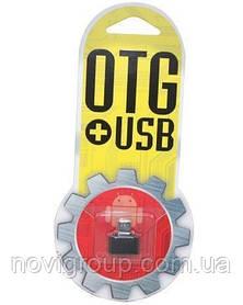 Перехідник YHL T3 USB 2.0 AF / Micro-B OTG, Black, OEM