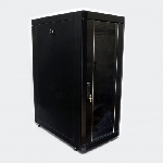 "Шафа 19"" 24U, 610х1055 мм (Ш*Г), чорна"