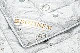 Одеяло 195х215 Двуспальное Евро MILDTON Хлопковое Зимнее Гипоаллергенное Теплое Мягкое Легкое Стирается, фото 3