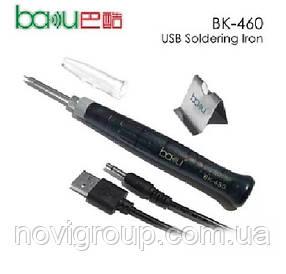 Електричний паяльник від USB порту, BAКKU BK-460 8W, Blister-box