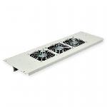 3-х вентиляторний блок в кришування для шаф MGSE 610 шир., сірий