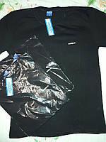Футболка мужская с коротким рукавом и принтом Athletic/Superior M Турция Серый/Черный Хлопок
