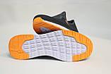 Чоловічі літні, темно-сірі кросівки, сітка.. Чоловічі літні, темно-сірі кросівки, сітка., фото 5