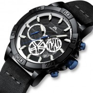 Часы Megalith 8086M Black-Blue