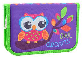 Пенал твердый Smart одинарный Owl 20.5*13*3.2 код: 531658