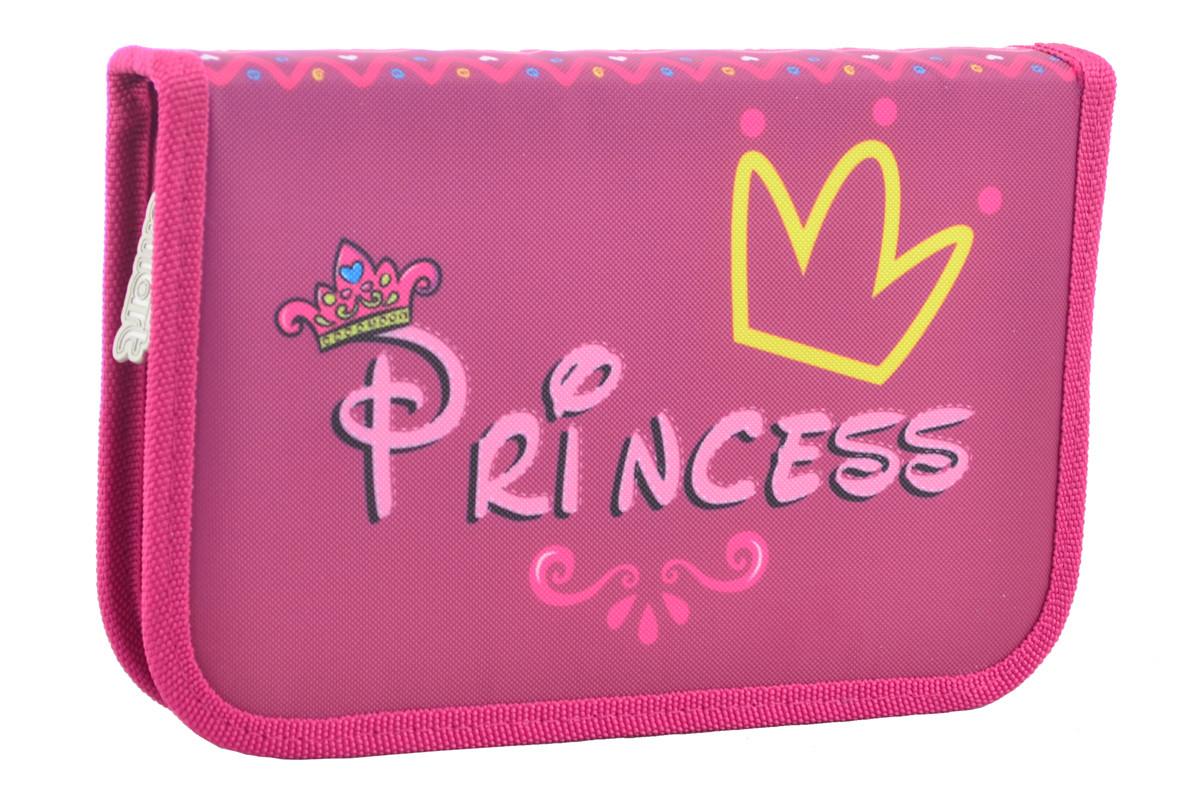 Пенал твердый Smart одинарный с клапаном Princess, 20.5*13*3.2     код: 531671