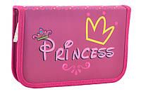 Пенал твердый Smart одинарный с клапаном Princess 20.5*13*3.2 код: 531671