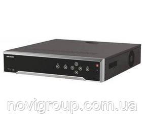 32-канальний 4K NVR c PoE комутатором на 24 порту DS-7732NI-I4 / 24P