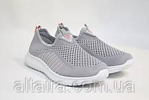 Жіночі кросівки, світло-сірого кольору, сітка SAYOTA. Жіночі кросівки світло-сірі SAYOTA