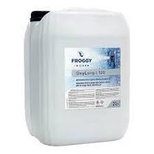 """Жидкий дезинфекант на основе кислорода O2 Froggy """"OxyLong L120"""" 20 л (жидкость)"""