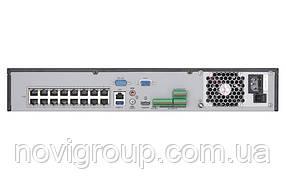 ¶32-канальний 4K мережевий відеореєстратор PoE Hikvision DS-7632NI-I2 / 16P
