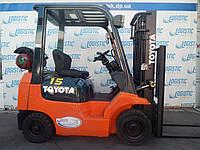 Вилочный погрузчик Toyota 42-7FG15 (газ/бензин, 1,5 тонны)