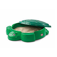 Песочница с крышкой Веселая Черепаха Little Tikes 173905E3