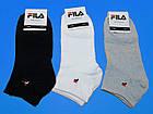 """Шкарпетки Fila жіночі """"Середні світлі"""", фото 2"""