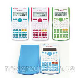 Калькулятор інженерний KK-82MS-3, 52 кнопки, мікс-колір, розміри 160 * 60 * 20мм, BOX