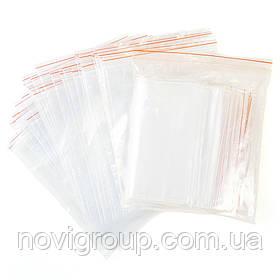 Пакети з замком Zip-Lock 100*150mm (100шт)
