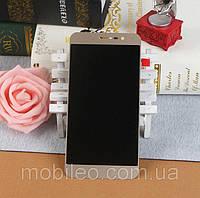 Дисплей (LCD) ZTE A910 AMOLED з тачскріном, золотий