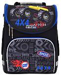 Рюкзак школьный каркасный PG-11 Speed 4*4 код: 557941, фото 4