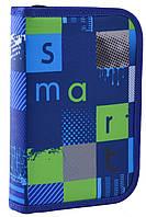 Пенал твердый Smart одинарный с двумя клапанами HP-04 Smart Style код: 532089