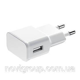 СЗУ HY009 110-240V, 1xUSB, 5V/2A, White