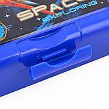 Контейнер для еды Star Explorer 450 мл с ложкой и вилкой 1Вересня код: 706843, фото 3