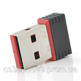 Бездротовий мережевий адаптер Wi-Fi-USB Merlion LV/CL-UW01, RT7601, 802.11 bgn, 150MB, 2.4 GHz,