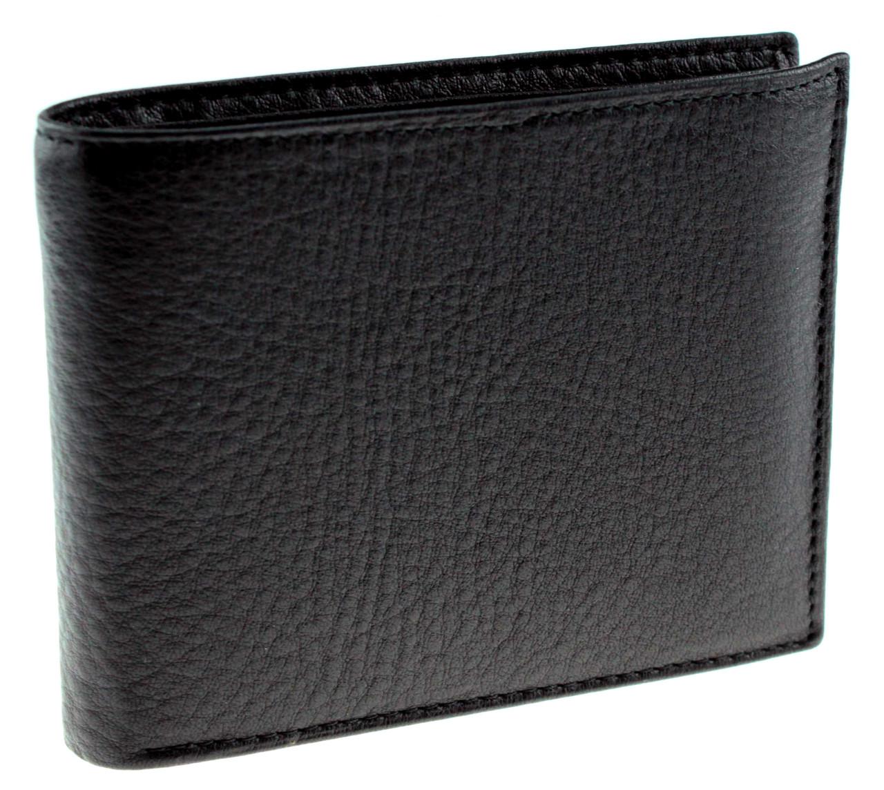 Мужское портмоне кожаное черное Eminsa 1014-12-1