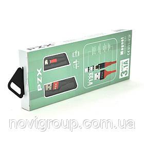 Кабель магнітний PZX V133, Micro-USB, 3.1A, Black, довжина 1м, BOX