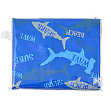 Дождевик-пончо YES со светоотражающим кантом «Акулы» код: 706945, фото 2