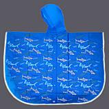 Дождевик-пончо YES со светоотражающим кантом «Акулы» код: 706945, фото 3