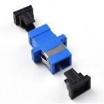 Адаптер оптичний з'єднання єднання SC / UPC-SC / UPC SIMPLEX, в пачці по 50 штук Q50 (B4000)