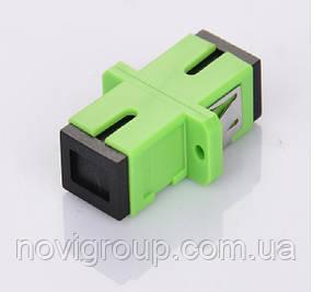 Адаптер оптичний з'єднання єднання SC/APC-SC/APC SIMPLEX, в пачці по 50 штук, ціна за 1 штуку, Q50
