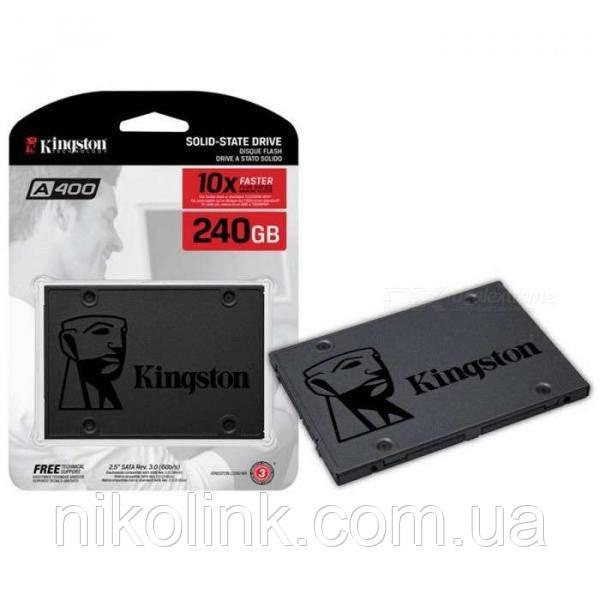 "SSD-Диск Kingston SSDNow A400 240GB 2.5"" SATAIII TLC (SA400S37/240G)"