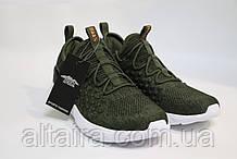 Стильні чоловічі кросівки кольору хакі, сітка.42 розмір Стильні подросткові кросівки,хакі, літні, сітка