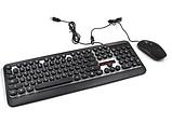 Комплект проводная Клавиатура и мышка LED GAMING KEYBOARD+Mouse HK3970, фото 2