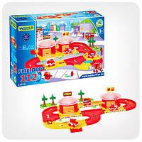 Детская дорога Kid Cars «Пожарная станция» (3,1 м.), фото 1