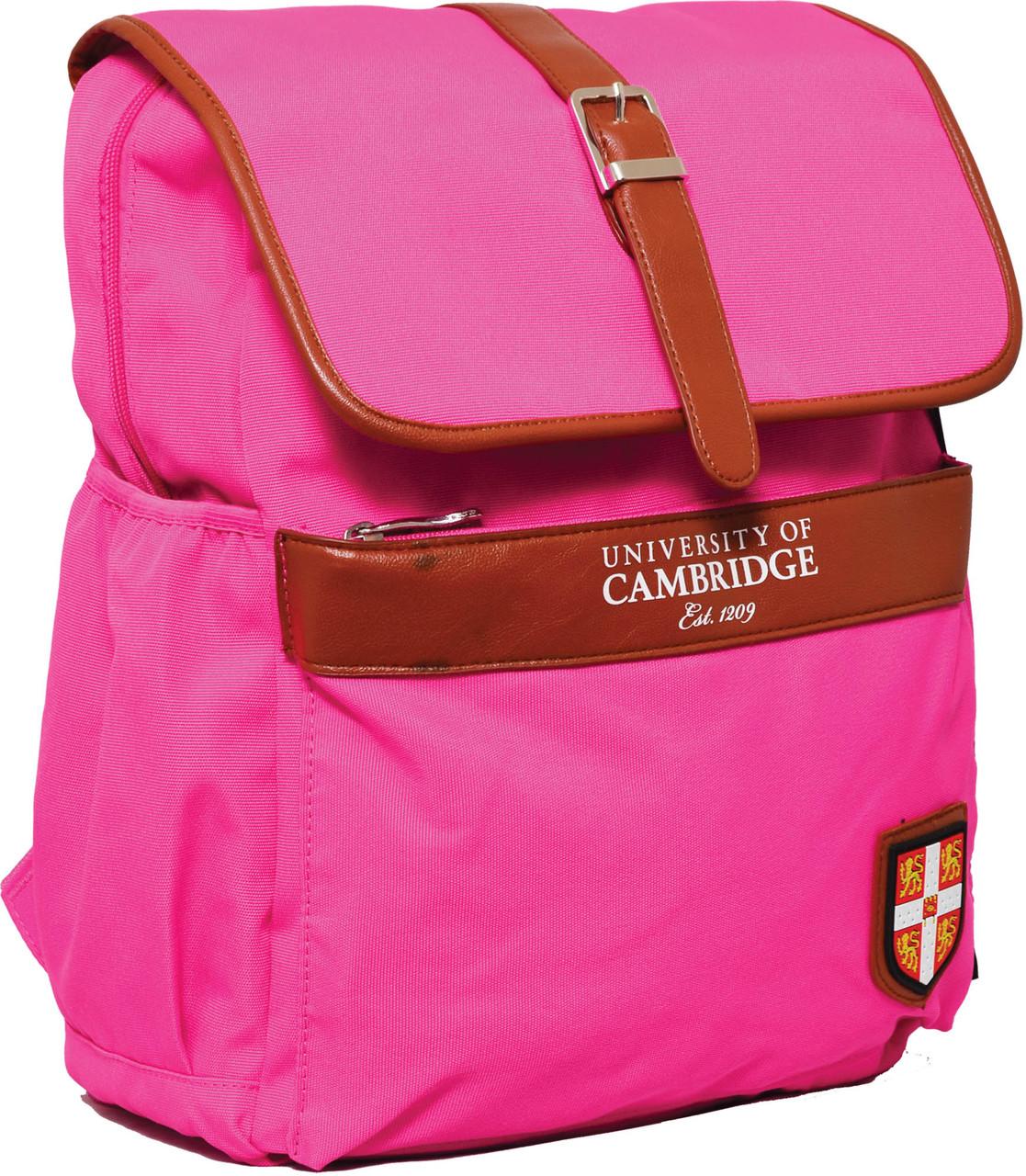 Рюкзак городской YES CA071 Cambridge розовый 29*13*35.5см код: 552970