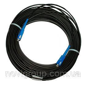 Патчкорд оптичний SC / UPC-SC / UPC (ОКТ-Д (1,0) 1Е) 15м.