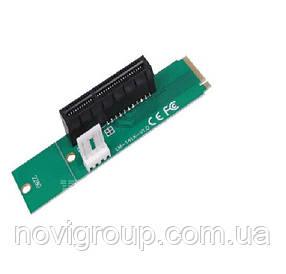 Адаптер M2-PCI-e x4, MOLEX => 4pin, викрутка +, Пакет