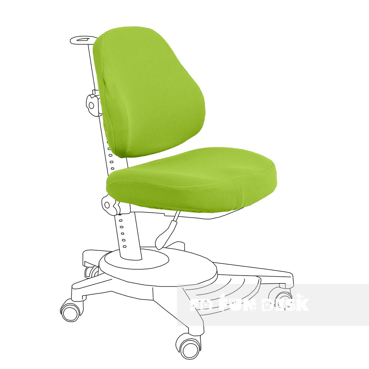Чохол для крісла Agosto green FunDesk