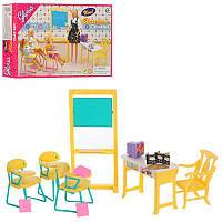 Детская игрушечная мебель Глория Gloria для кукол Барби Класс Школьная мебель 9916. Обустройте кукольный домик, фото 1