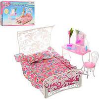 Детская игрушечная мебель Глория Gloria для кукол Барби Спальня 2814. Обустройте кукольный домик, фото 1