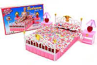 Детская игрушечная мебель Глория Gloria для кукол Барби Спальня 99001. Обустройте кукольный домик, фото 1
