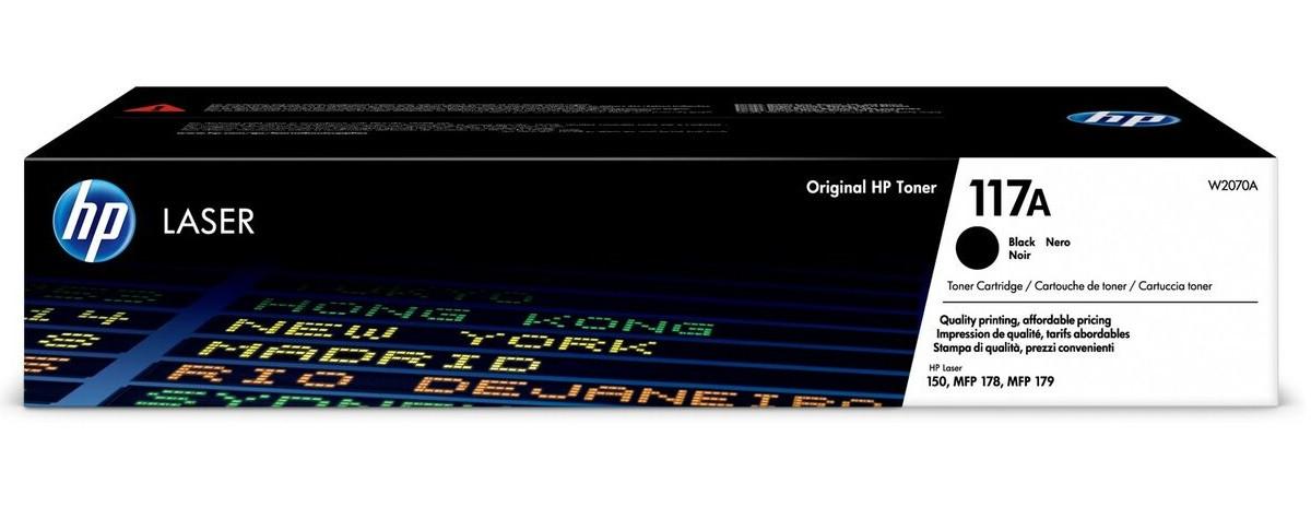 Тонер-картридж HP 117A CL 150a/150nw/178nw/179fnw Black 1000 страниц