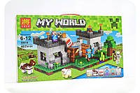 Конструктор Майнкрафт «My world» - Крепость с динамитом, фото 1