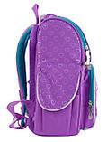 Рюкзак школьный ортопедический каркасный 1 Вересня H-11 Sofia purple, 34*26*14 код: 553269, фото 2