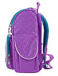 Рюкзак школьный ортопедический каркасный 1 Вересня H-11 Sofia purple, 34*26*14 код: 553269, фото 3