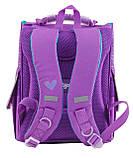 Рюкзак школьный ортопедический каркасный 1 Вересня H-11 Sofia purple, 34*26*14 код: 553269, фото 4