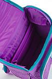 Рюкзак школьный ортопедический каркасный 1 Вересня H-11 Sofia purple, 34*26*14 код: 553269, фото 5