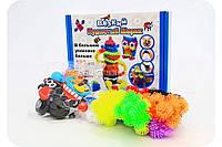 Конструктор-липучка Bunchems (Вязкий пушистый шарик) 150 деталей, фото 1